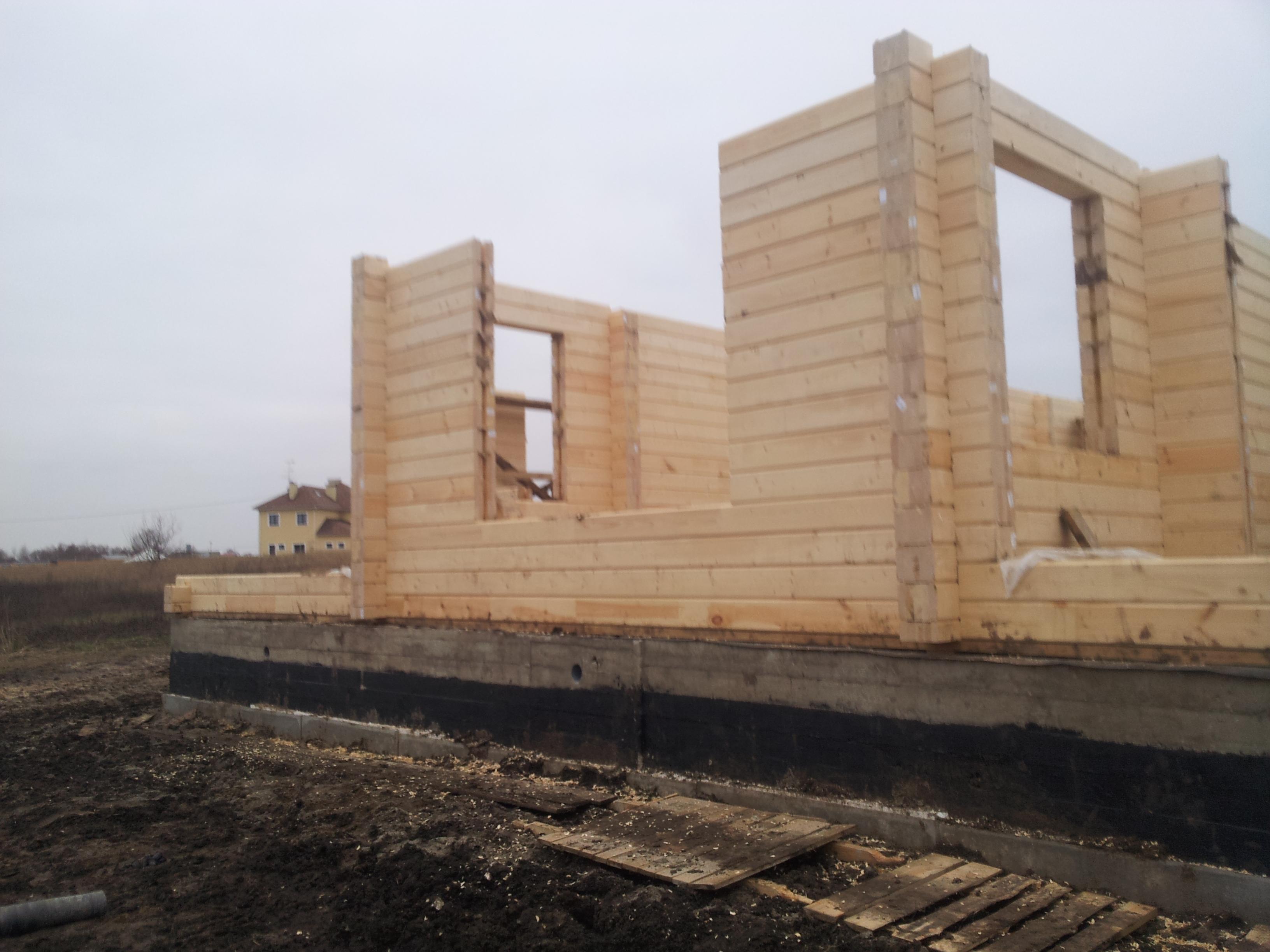 Строительство домов из бруса под 27