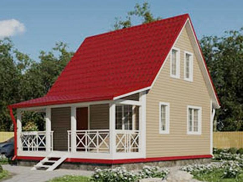 Каркасный дом КР 04-85